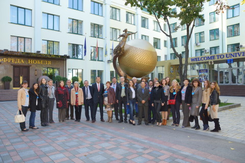 V Congreso de hispanistas de Ucrania