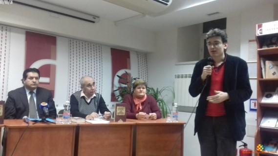 """03/03/16 Presentación de """"¿Quién mató a Palomino Molero?"""" en ucraniano"""